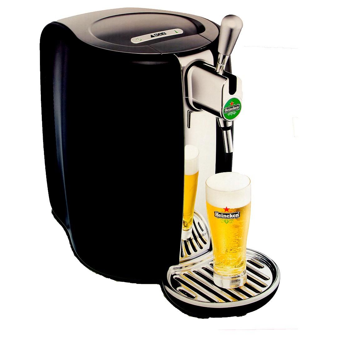 Tireuse à bière beertender: comment y démarrer un fût?
